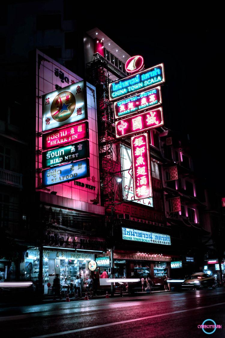 Bangkok Cyberpunk - cyberpunk, photography - cybercitypunk | ello