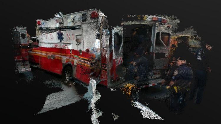 3D Ambulance York City - 3dscan - michhessel | ello