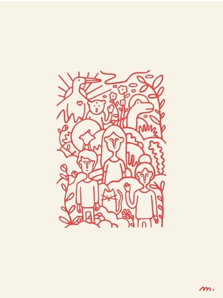 Sunny Side Project  - illustration - marielemaistre | ello