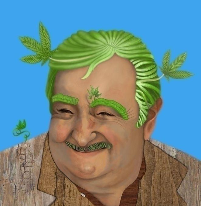 Mujica - da série meio humano - andreaha_san | ello
