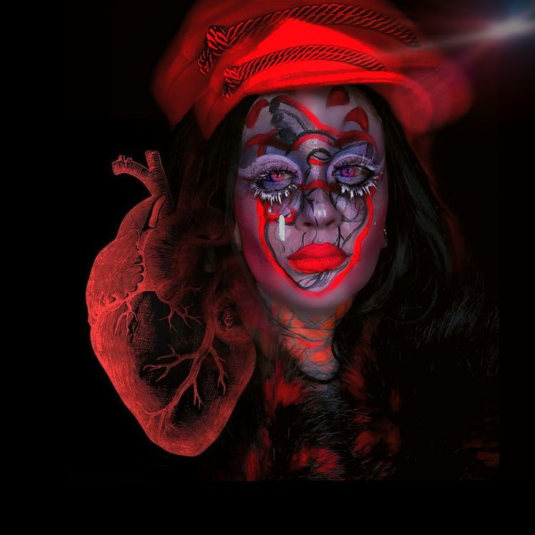 ? Hehe. Makeup visual art proje - nancynoose | ello