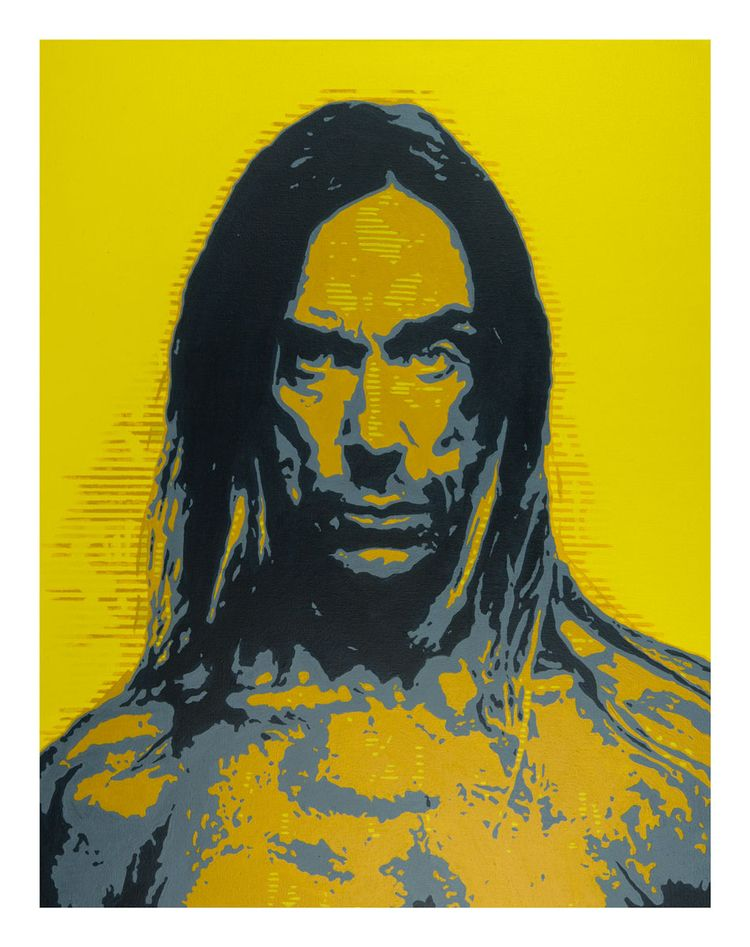 'IGGY POP' Limited edition gicl - elizarockerart | ello