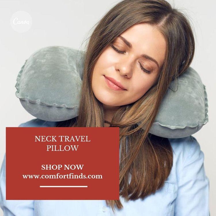 Neck Travel Pillow Ideal travel - comfortfind | ello