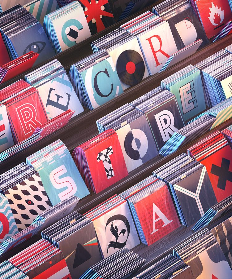 Record Store Day Poster - boris_moshkov | ello