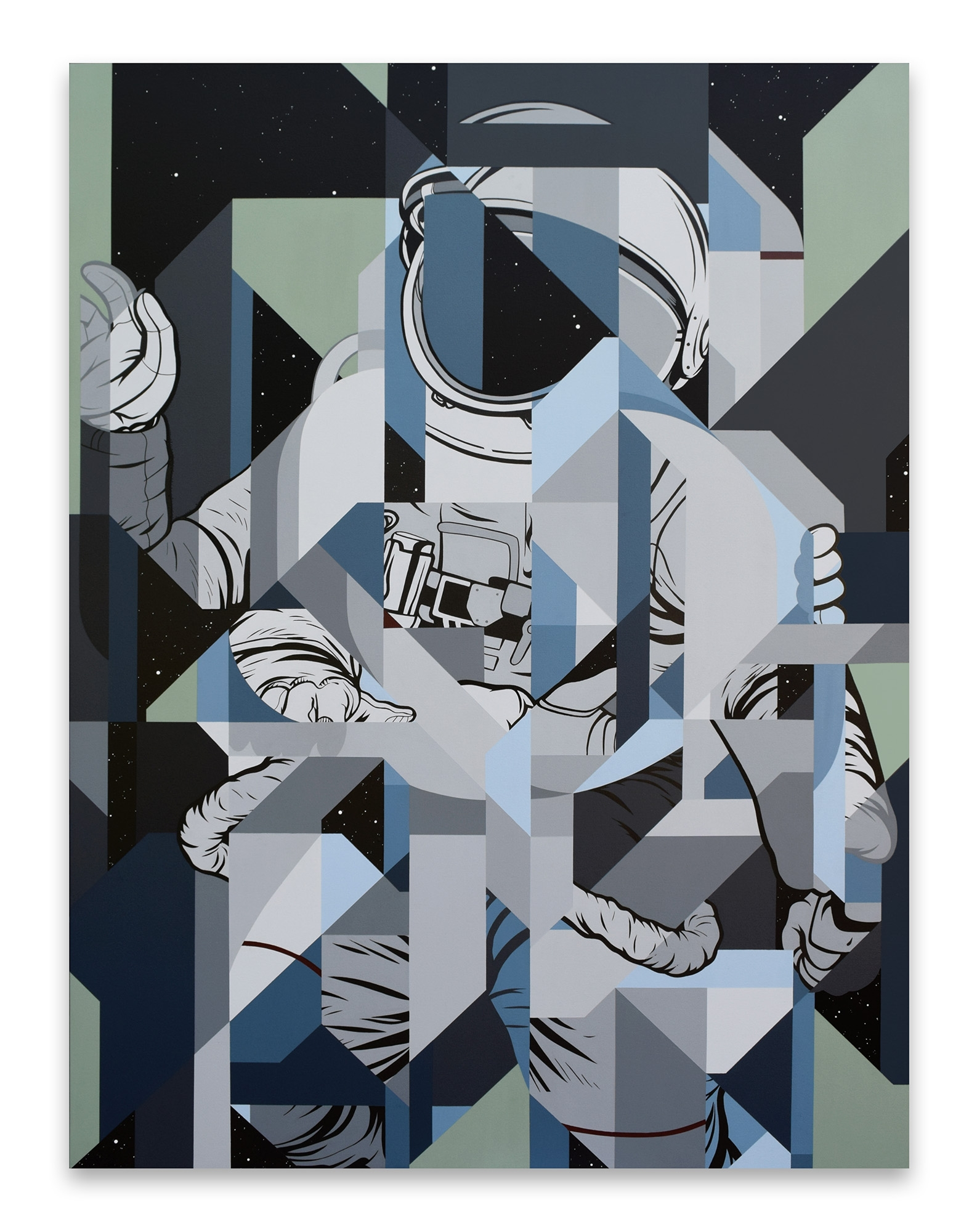 Shoulder Orion Acrylic painting - ericpause | ello