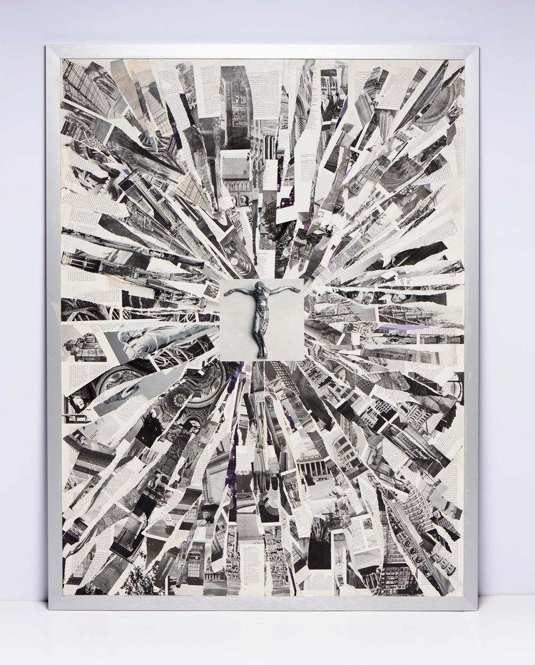 Jesus Christ 001 Collage canvas - ericperez   ello