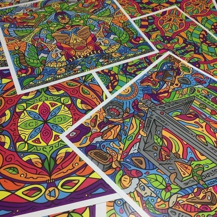 Collection-set Psychedelic Art - idro51 | ello