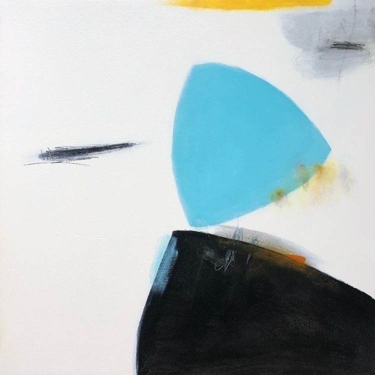 Accidental Happiness 24x24 inch - onnavoellmer | ello