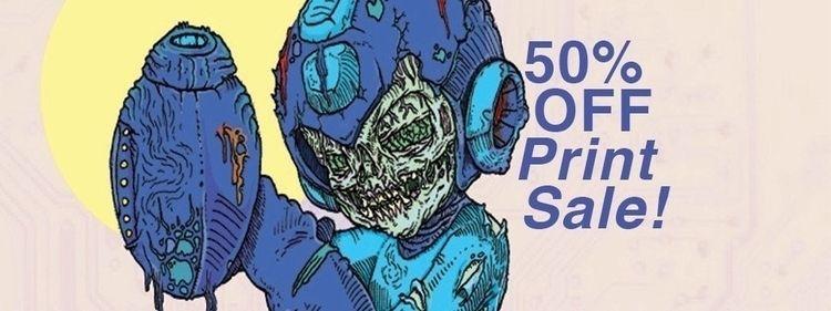 SALE! 50% art prints stock. cod - albertmontoya | ello