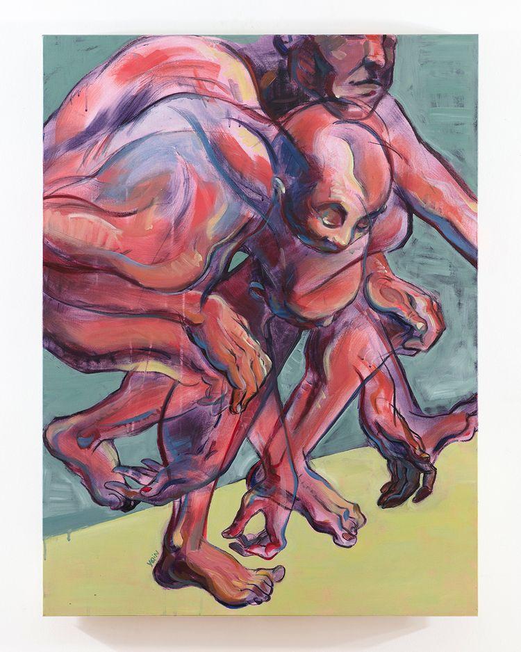 Mechanics Fold (2018) Acrylic c - yqin_art | ello