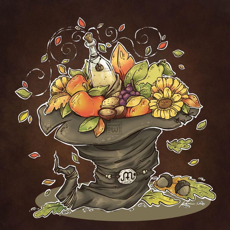 Mabon (Autumn Equinox) - season - moondustowl | ello