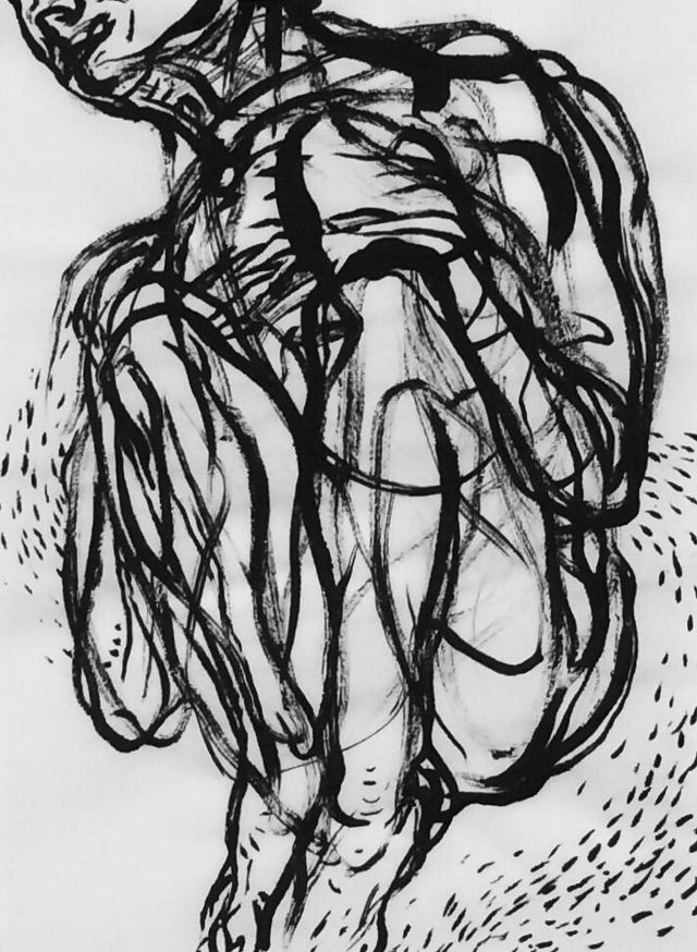 art, ink, sketch, figurative - mlui   ello