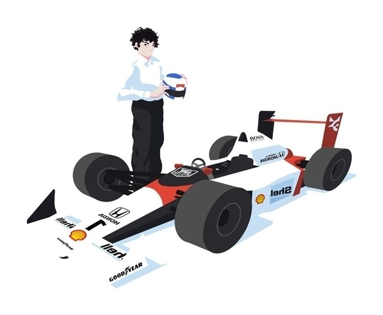 Alain Prost - Formula1 - h4rlock | ello