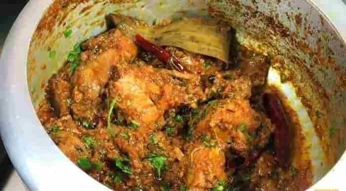 Chicken Bhuna Recipe Indian sty - palashbiswas   ello