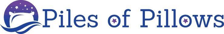 Full Logo Piles Pillows - logo, design - pilesofpillows | ello