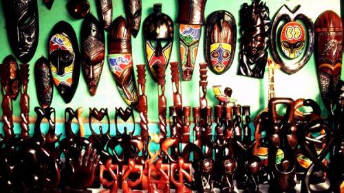 Authentic African Arts Crafts M - igodoblack   ello