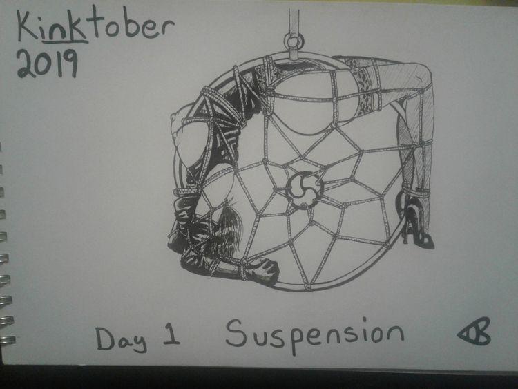 Kinktober, Day 1: Suspension - kinktober2019 - lewdatic | ello
