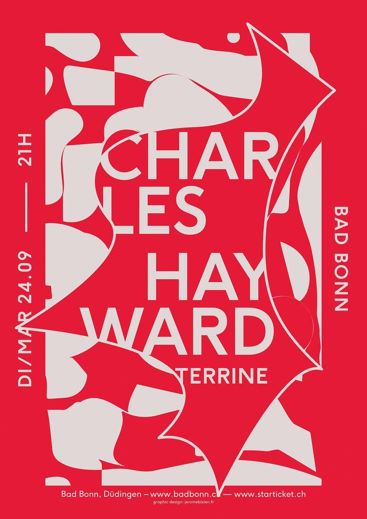 NOUVEAU poster Charles Hayward - jeromebizien   ello
