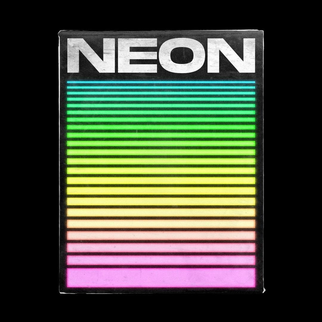 NEON → Poster theme stickers po - tuomodesign | ello
