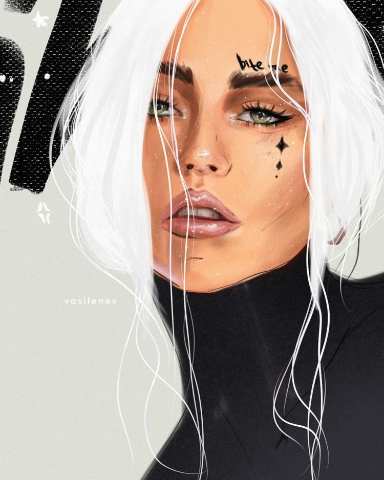 Instagram: • year illustration  - vasilenevart | ello