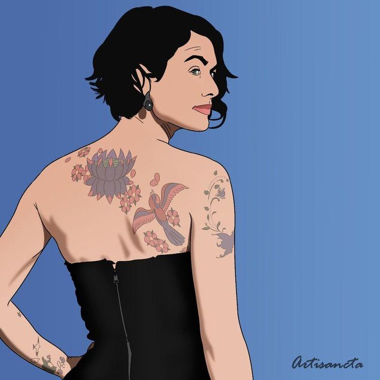Lena Headey, Illustration - artisancta | ello