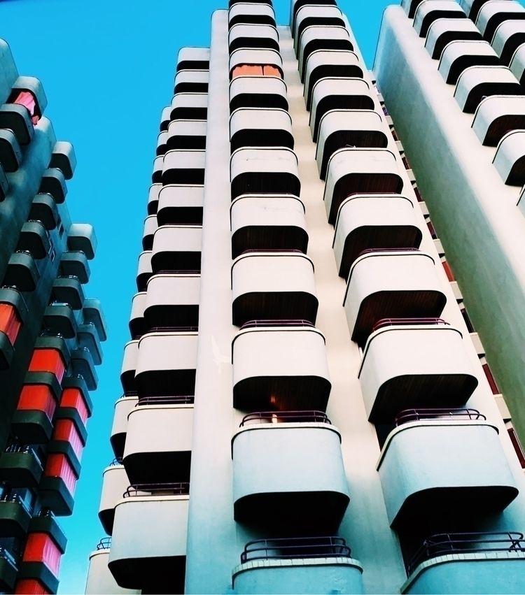 Funky balconies angles Palafrug - travelxbritt | ello