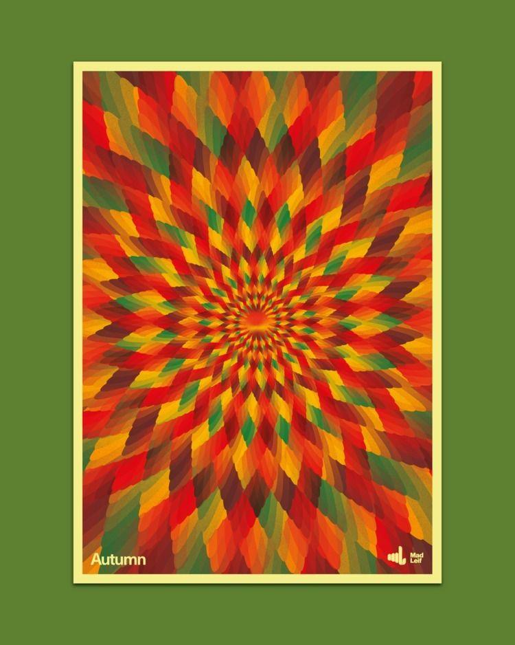 Autumn  - poster, posterdesign, graphicdesign - madleif | ello
