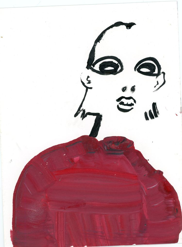 Quick Sketch Acrylic - kat_hoelck_goble | ello