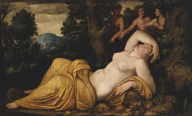 Battista de'Luteri Dossi, 'Nymp - clearchus   ello
