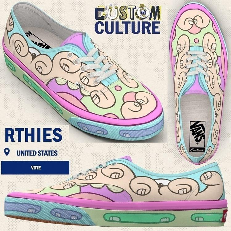 shoe design, Vans Custom Cultur - rthies | ello