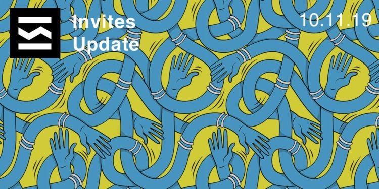 Invites Update 10/11/2019 weeke - elloblog   ello