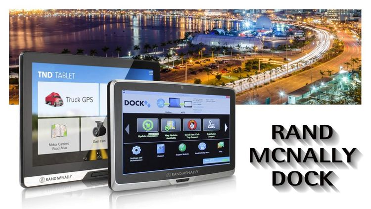 Rand McNally Dock powerful, ess - floradavis | ello