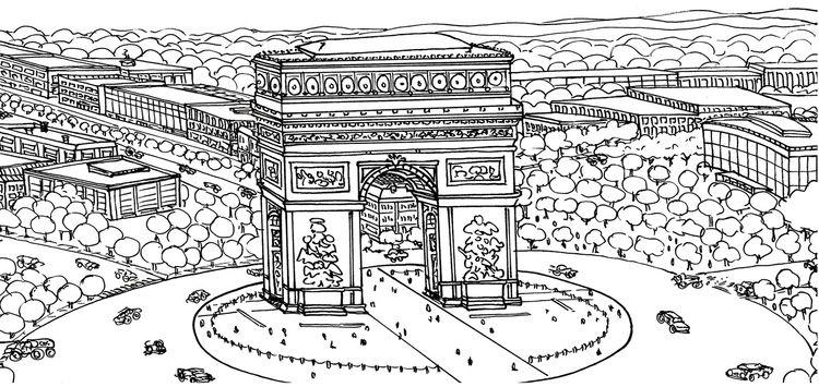 love illustrating landmarks pla - clayton_bouldin | ello