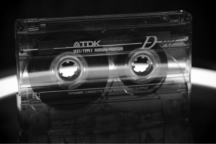 Cassette tape - TDK, bw - taari | ello