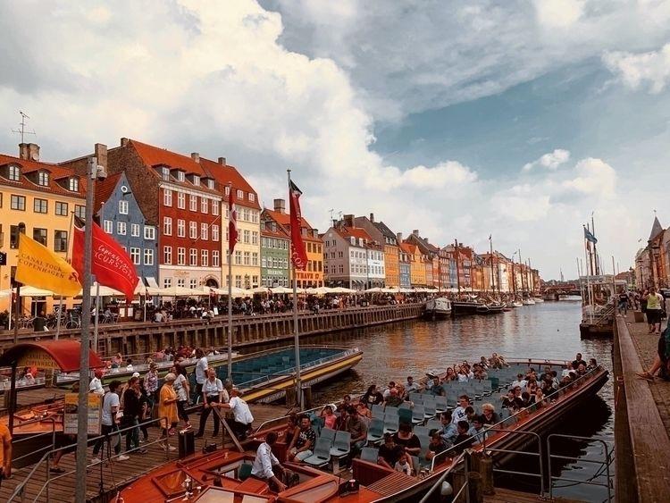Copenhagen - Denmark., Canal, Tour - alexlamond | ello