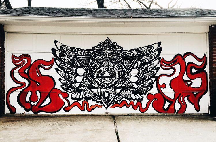 'Simply Complex Mural. Garage d - ashleysimoneny | ello