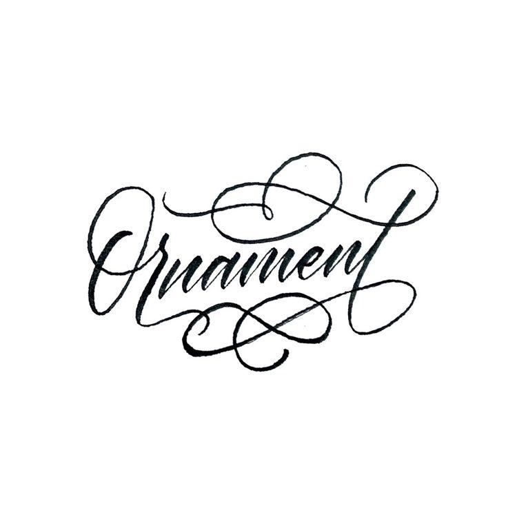 lettering, handlettering, typography - chuckchai   ello