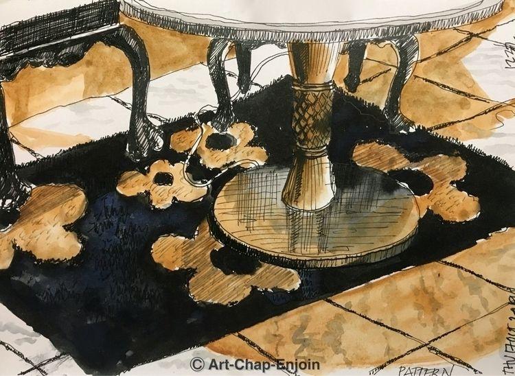 1232 - Pattern sketch prompt pa - artchapenjoin | ello