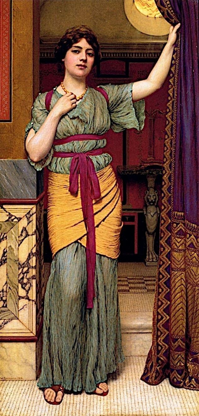 Pompeian Lady, John William God - zorrojacques   ello