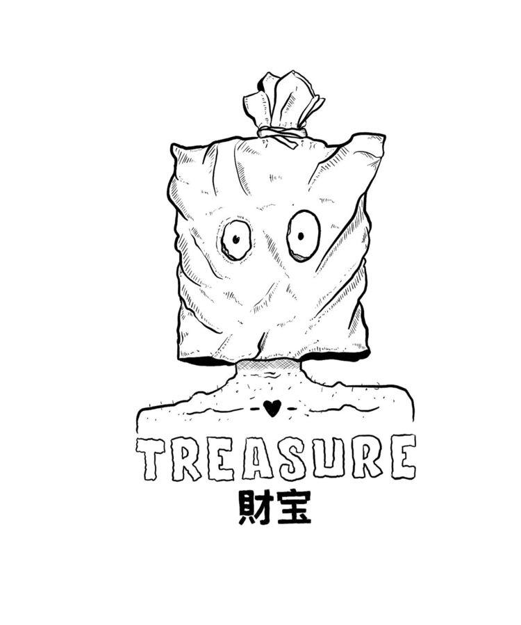 «Treasure» 21 //  - inktober2019 - flatdrop | ello