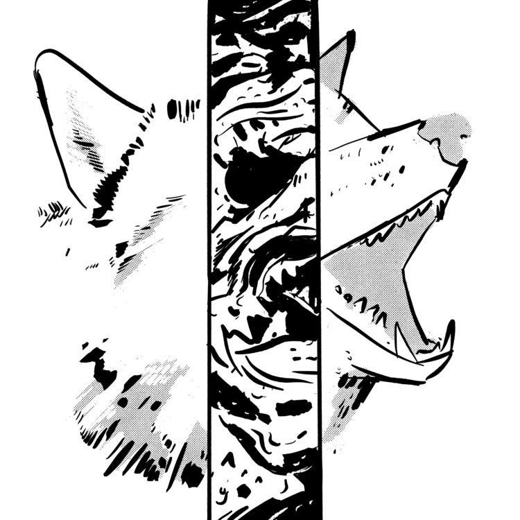 2019 06: Husky - inktober, thething - maljones | ello