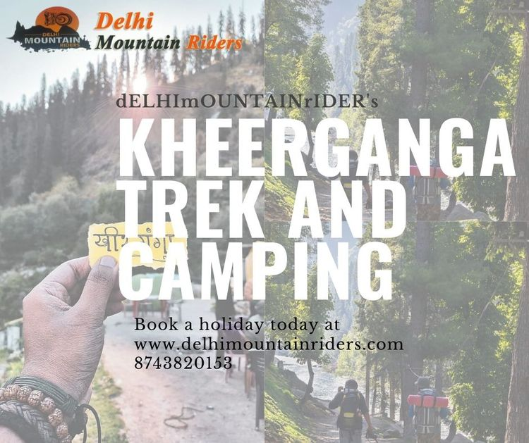 Kheerganga beautiful places Ind - delhimountainriders | ello