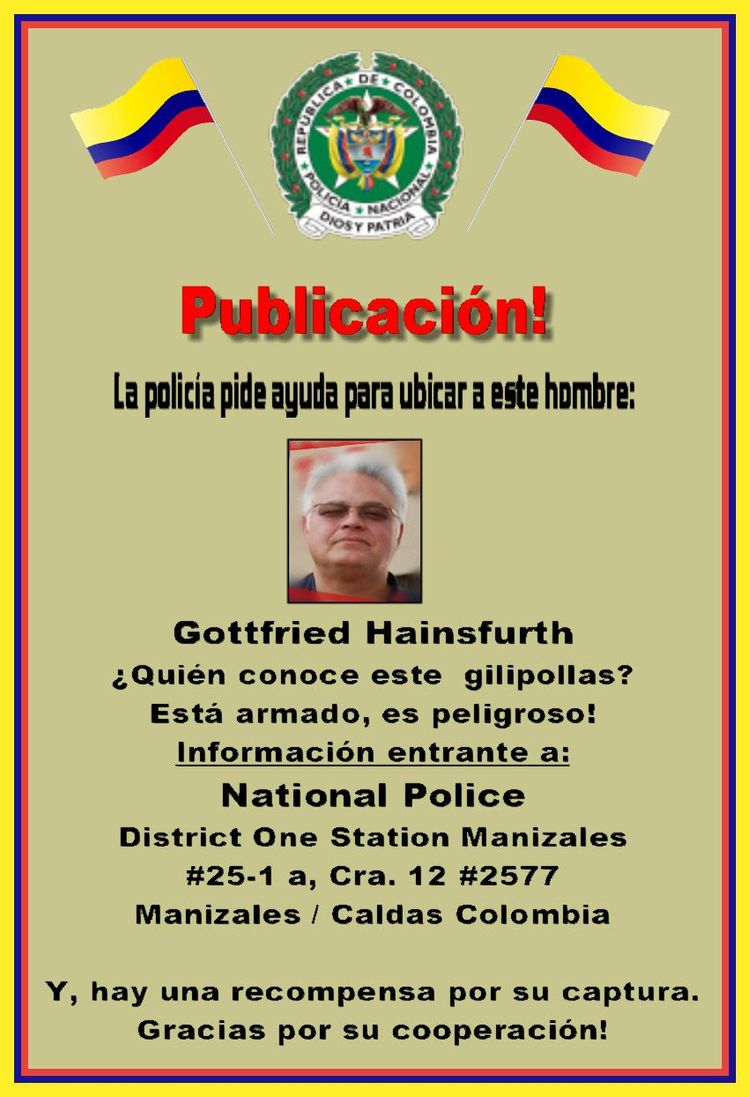 Mir llamo Gottfried Hainsfurth - gottfriedcolombia | ello