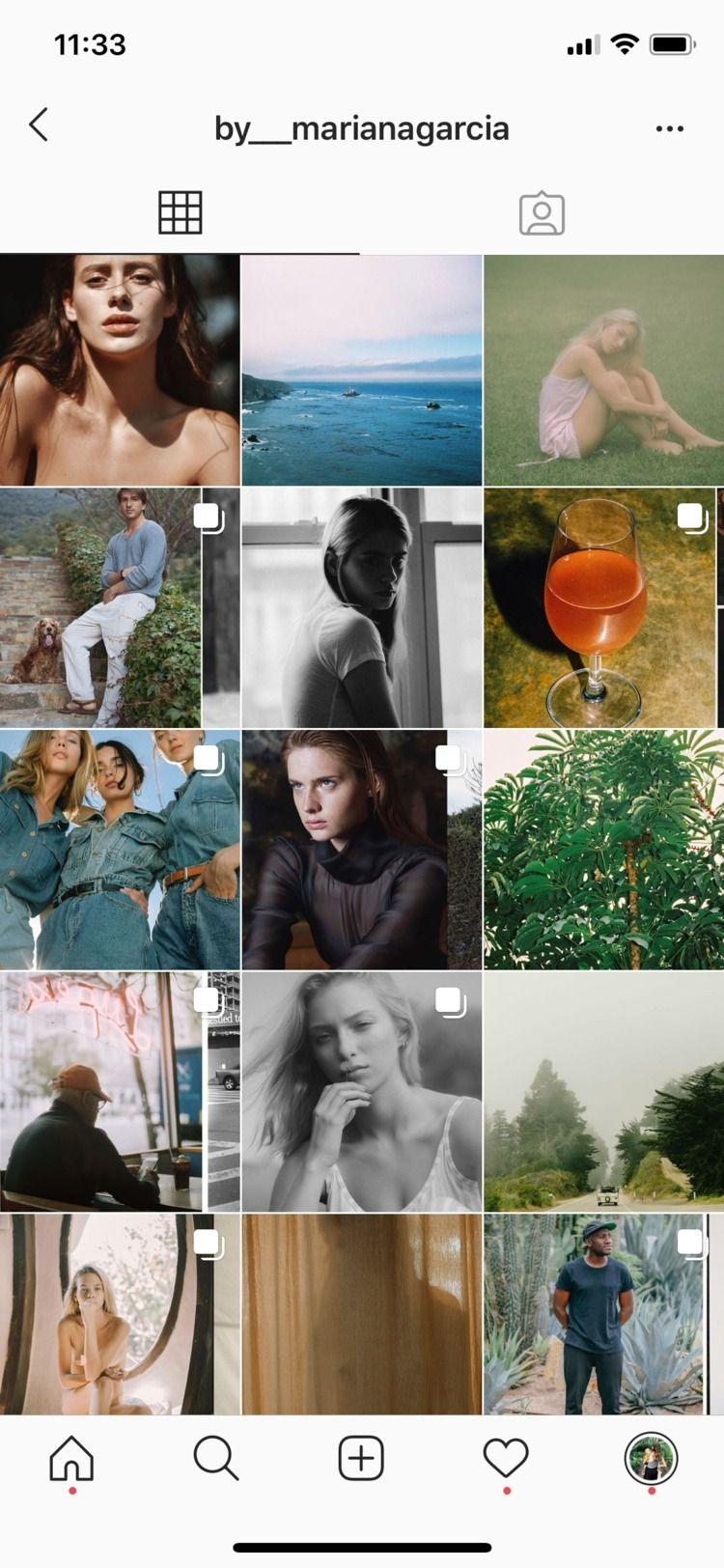 Instagram WORK account - sheismariana | ello