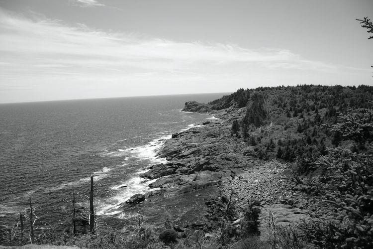 Monhegan, Maine - landscape, blackandwhite - jfburp63 | ello