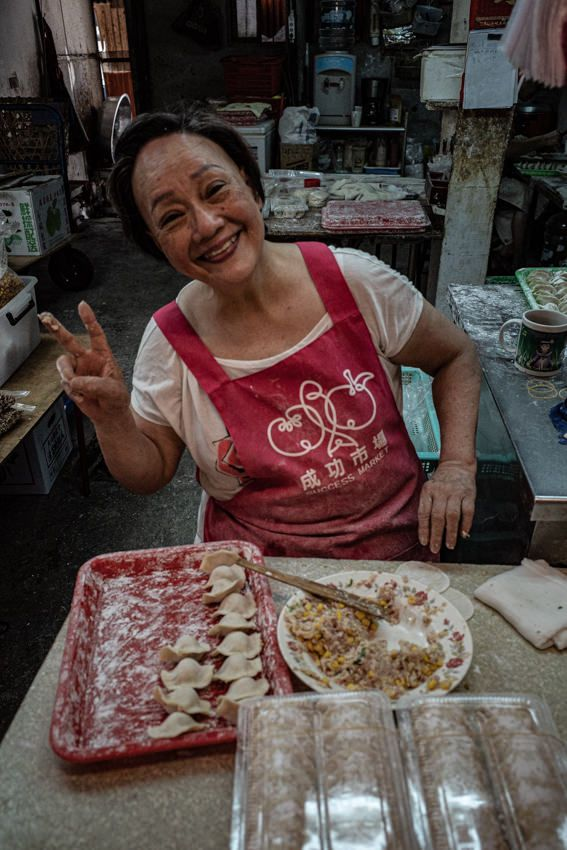 woman making Jaozi market. Shot - tetsuozawa | ello