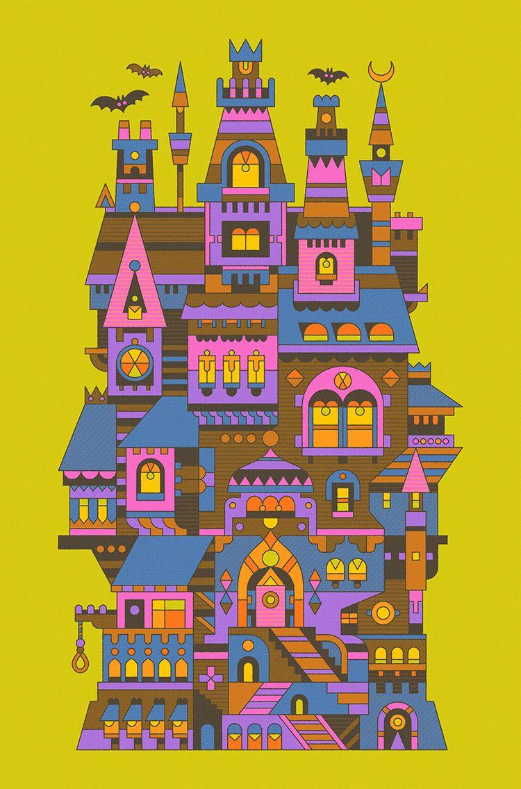 Halloween House Hotel open busi - mattlyonart | ello