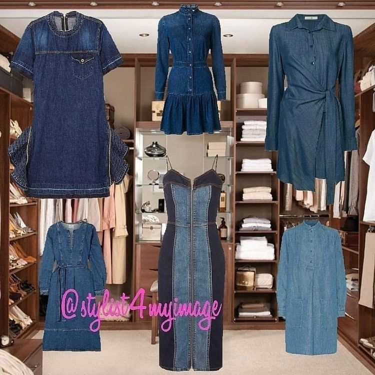 Trend Denim Dress trend bring n - yourfashionstylist | ello