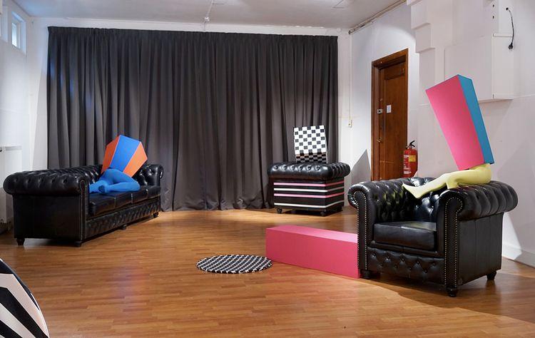 Lounge' installation exhibition - gudakoster | ello