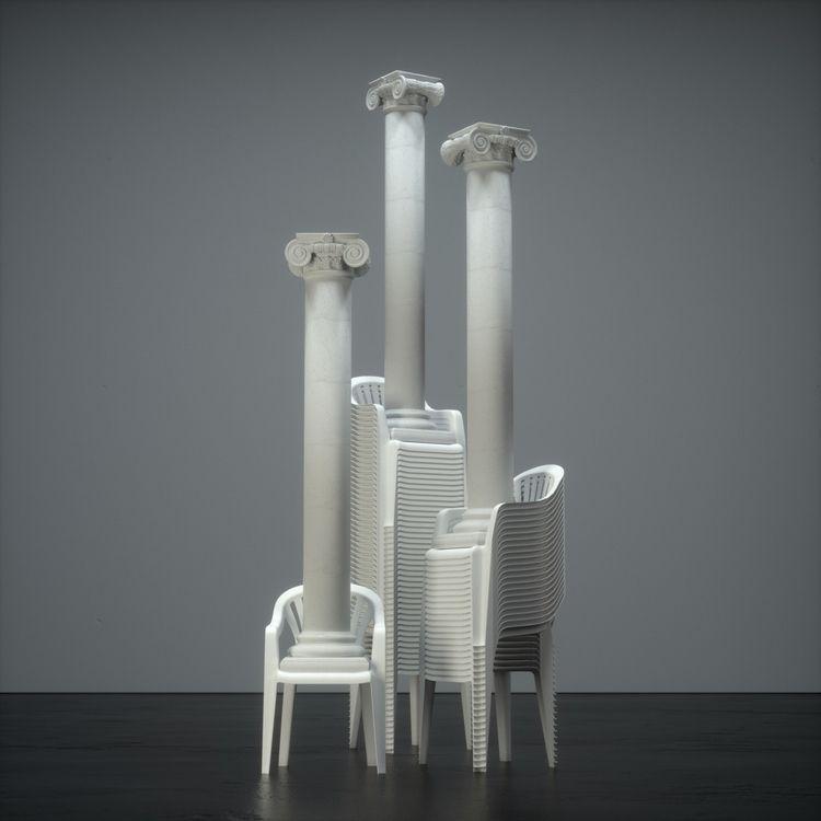 Substrate - Assemblage, 3D, Monobloc - aaaronkaufman   ello